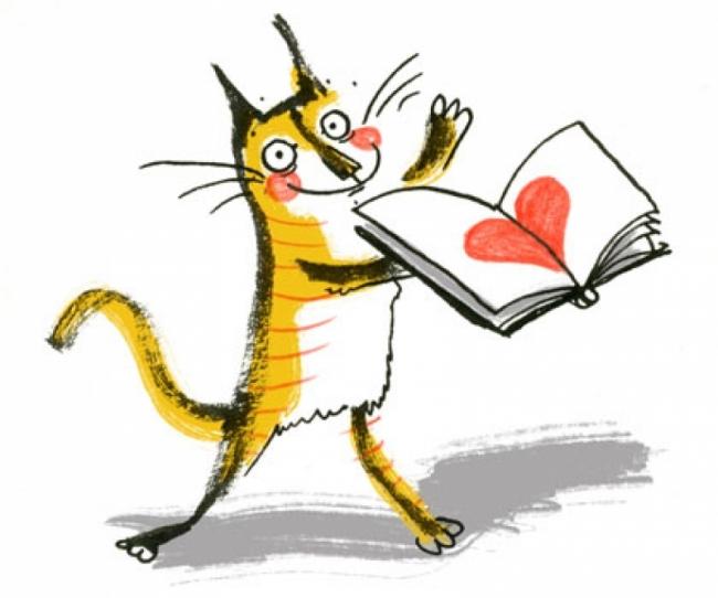 Валентинка + книга = отличный подарок