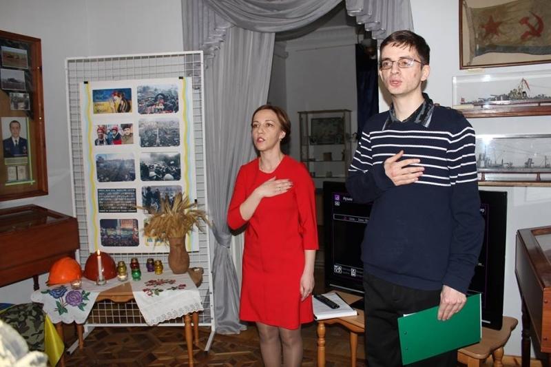 Выставка и урок-реквием памяти Небесной Сотни