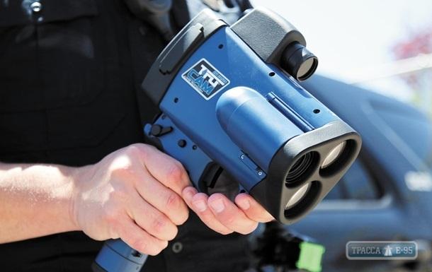 На трассах Одесской области установили новые лазерные радары TruCam