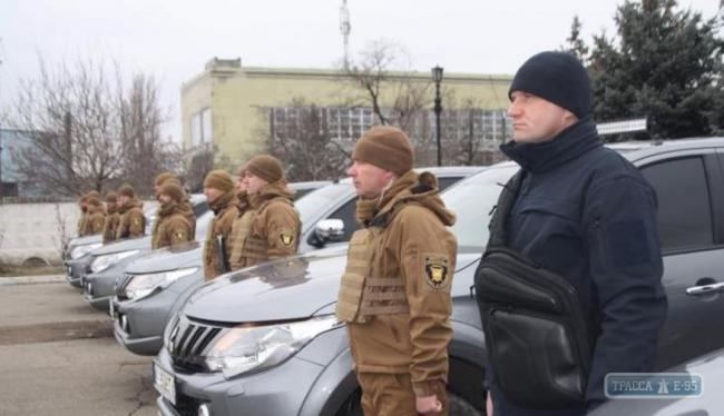 Одесская железная дорога создала свой отряд спецназа