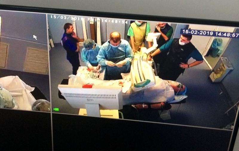 В Измаиле в кардиоцентре установили первый стент!