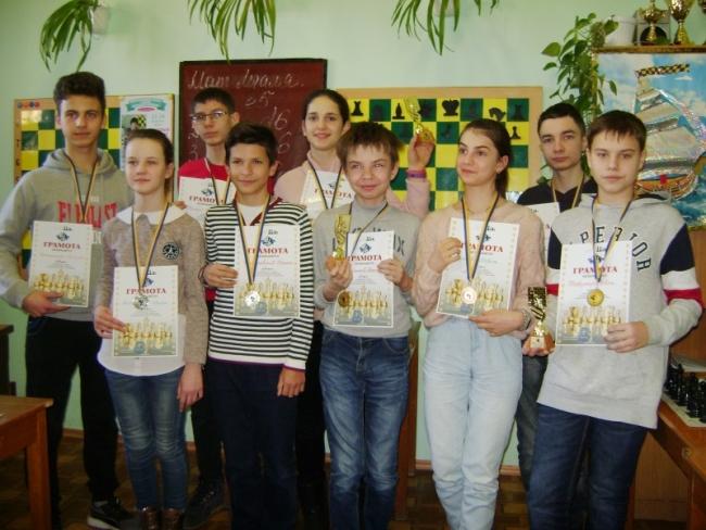 Определены сильнейшие шахматисты-школьники