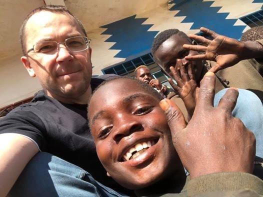 Килийский городской голова в миссионерской поездке по Африке