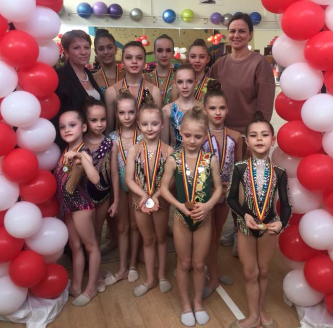 Гимнастки Измаила на Интернациональном турнире в Кишинёве