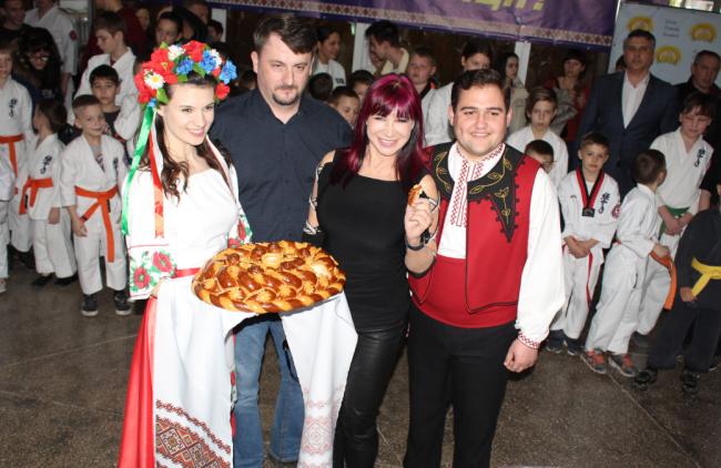 В Измаиле побывала Синтия Ротрок - голливудская звезда и мега-мастер боевых искусств