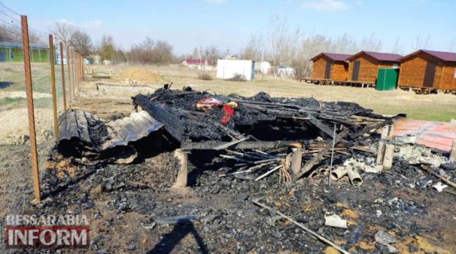 Поджог: в курортной зоне сожгли дачу