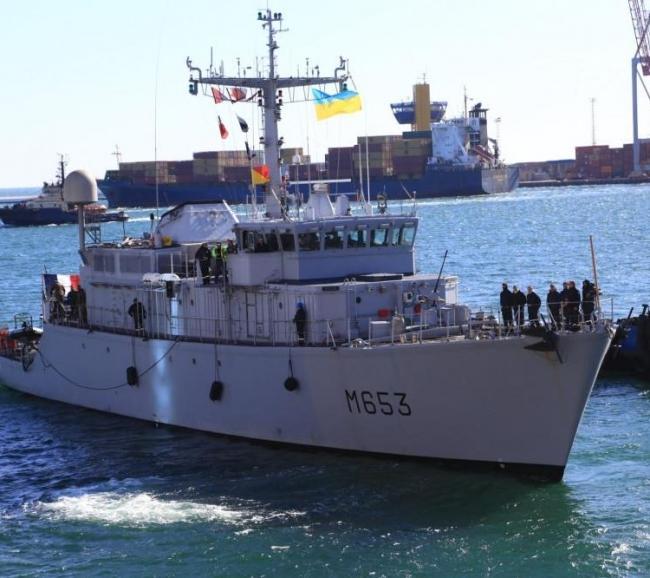 В Одесский порт вошел военный корабль НАТО