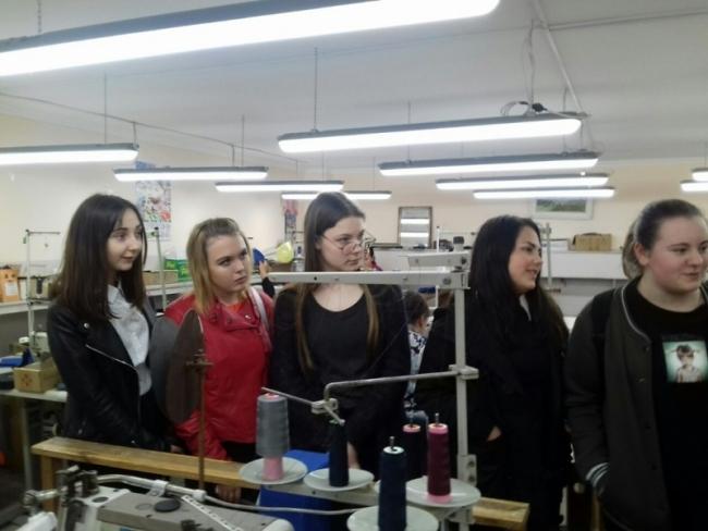 Экскурсия на швейное производство