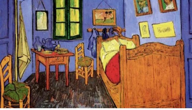 Интерьеры с картин известных художников воссоздали в реальной жизни: яркие фотосравнения