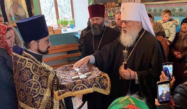 Митрополит Агафангел посетил ряд населённых пунктов Болградского района
