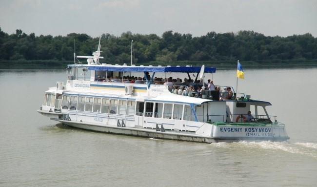 Украинское Дунайское пароходство открыло сезон экскурсионных рейсов