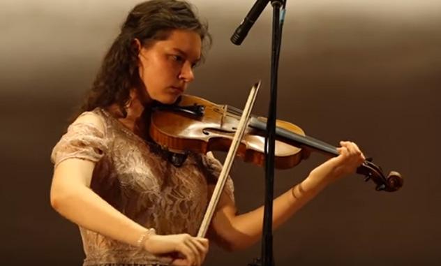 Ренийская скрипачка стала победительницей международного музыкального конкурса