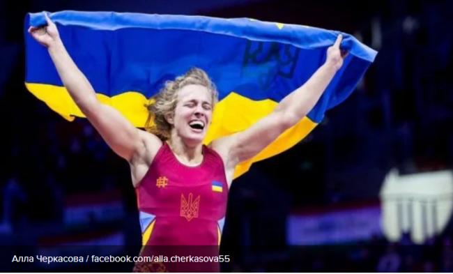 Алла Черкасова завоевала для Украины третью золотую награду на чемпионате Европы