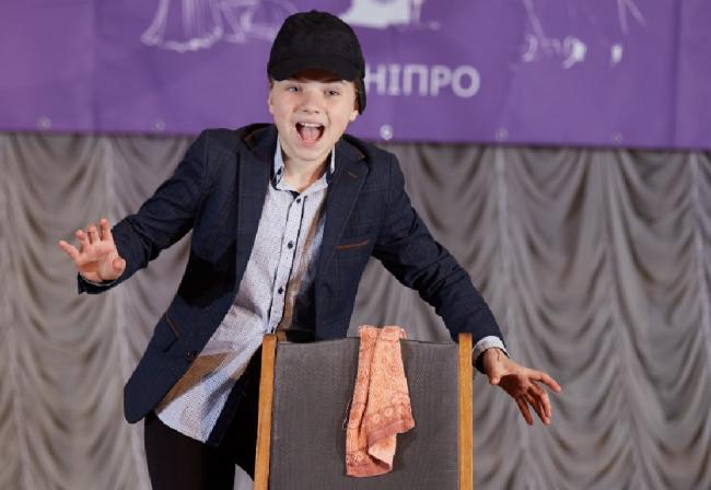 Наша Ульяна блистала на театральном конкурсе в Днепре