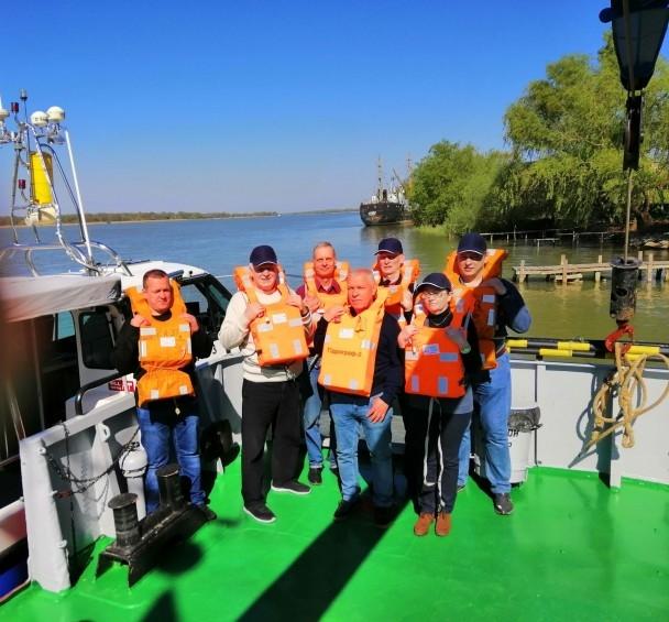 На Дунае проведут речную экспедицию с использованием многолучевого эхолота
