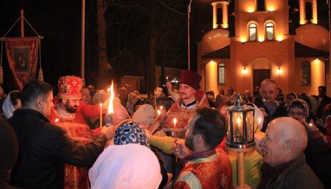 Измаил празднует главный праздник православия - Воскресение Господне