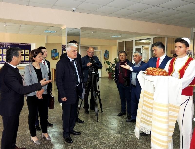 Измаил посетил министр Албании по делам диаспоры