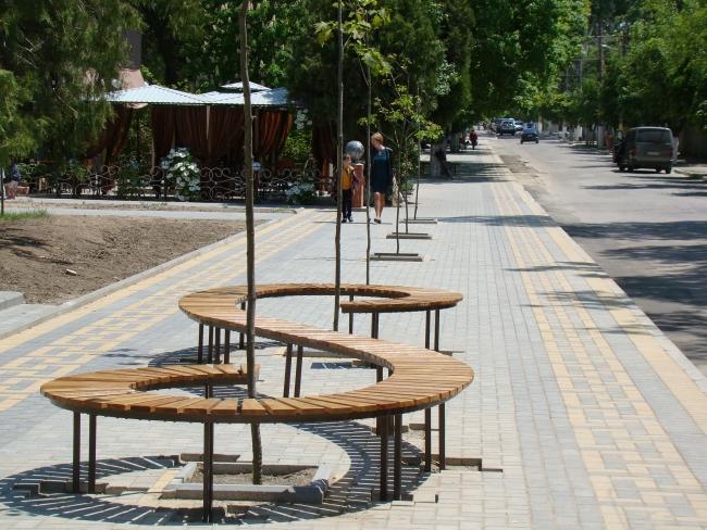 В Рени завершился первый этап реконструкции парка Победы