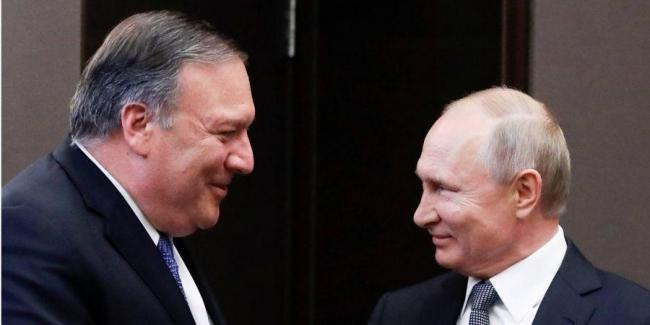 Помпео подвел итоги встречи с Лавровым и Путиным