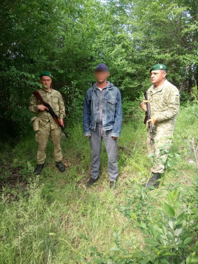 Задержан при попытке незаконного пересечения госграницы