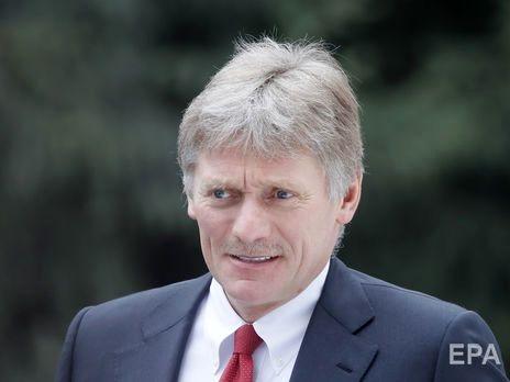 Песков заявил, что Путин пока не планирует контактировать с Зеленским