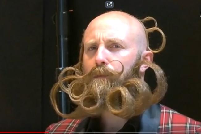 В Бельгии прошел чемпионат мира среди бородачей и усачей