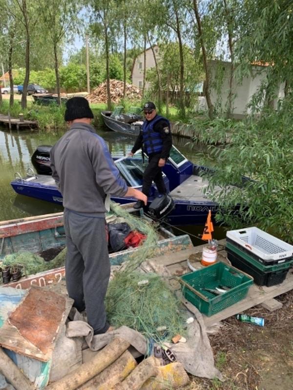 Патруль рыбоохраны задержал браконьеров