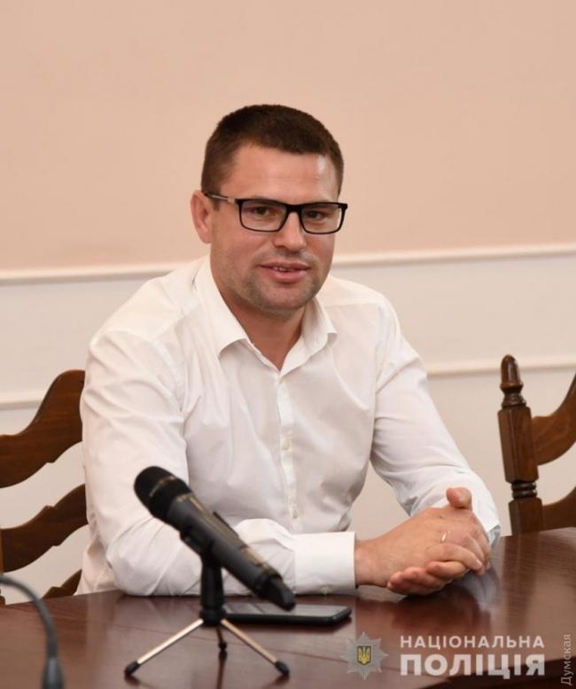 Начальник ГУ НПУ в Одесской области представил своего заместителя