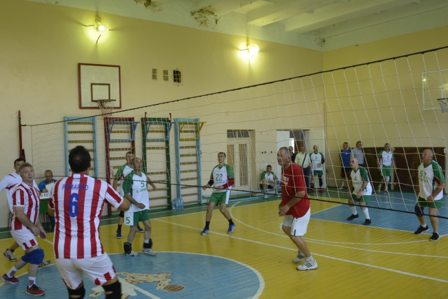 В Придунавье состоялся волейбольный турнир среди ветеранов