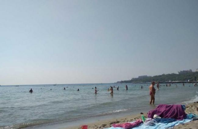 Вода на одесских пляжах в норме