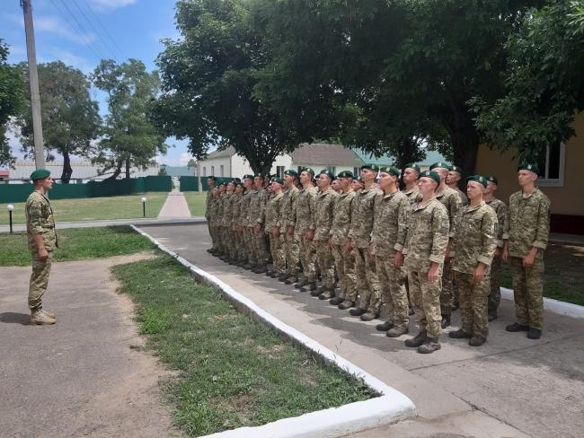 Измаильский погранотряд пополнился военнослужащими срочной службы