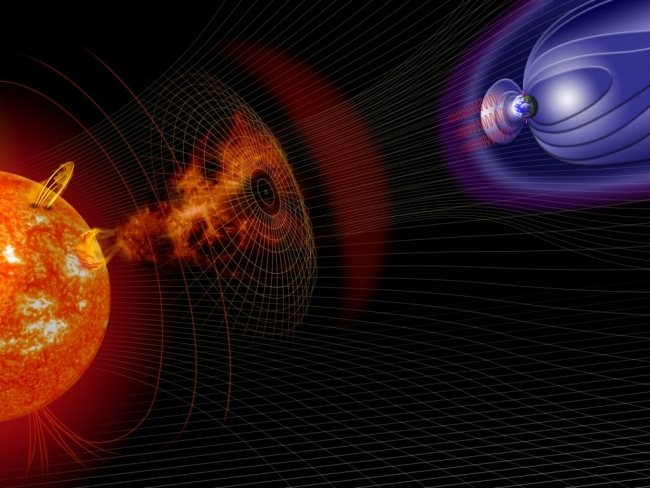 Сегодня Землю накроет одна из мощнейших за последние 10 лет магнитная буря