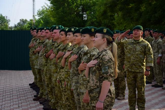Измаильский отряд пополнился офицерами-выпускниками