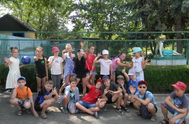 """Незабываемый отдых в лагере """"Юный эколог"""""""