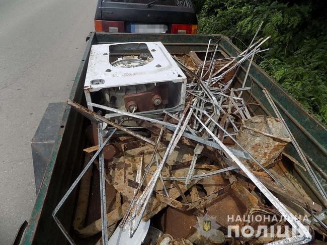 Полицейские привлекли измаильчанина к ответственности за незаконные операции с металлоломом