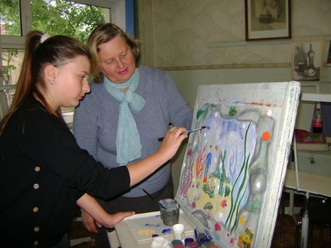 Талантливая ученица Людмилы Бондарь