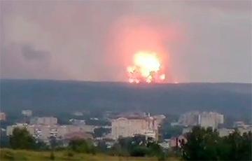 На складе под российским Ачинском спустя четыре дня прогремели новые взрывы