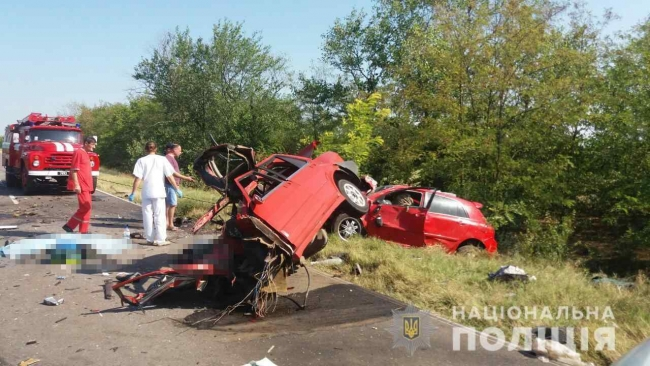 На трассе Вилково-Татарбунары произошло крупное ДТП