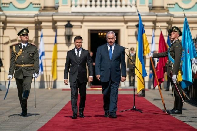 Впервые за 20 лет премьер Израиля приехал в Киев, где встретился с Зеленским