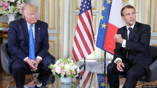 """CNN: Трамп и Макрон считают, что Россию нужно пригласить на саммит """"семерки"""" в 2020 году"""