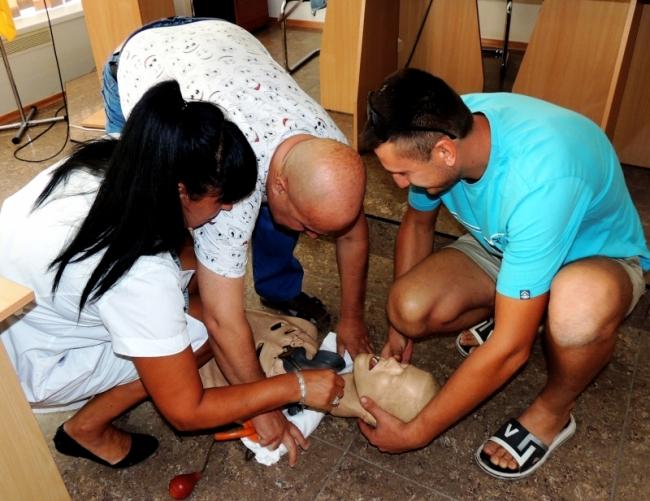 Измаильские водители учились оказывать первую медицинскую помощь