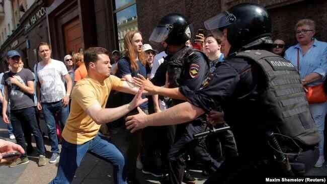 Россия: оппозиция собирается на масштабную акцию протеста в Москве
