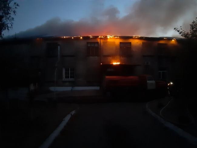 Пожар в Суворовской пекарне