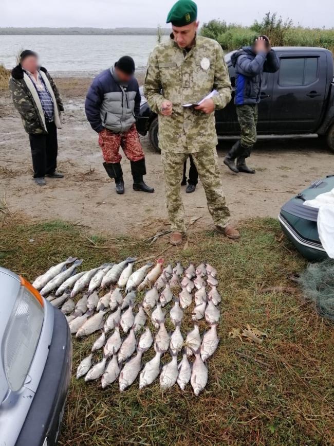 Правоохранители задержали браконьеров с незаконным уловом