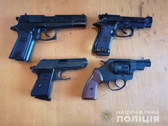 В Одесской области продолжается месячник добровольной сдачи оружия