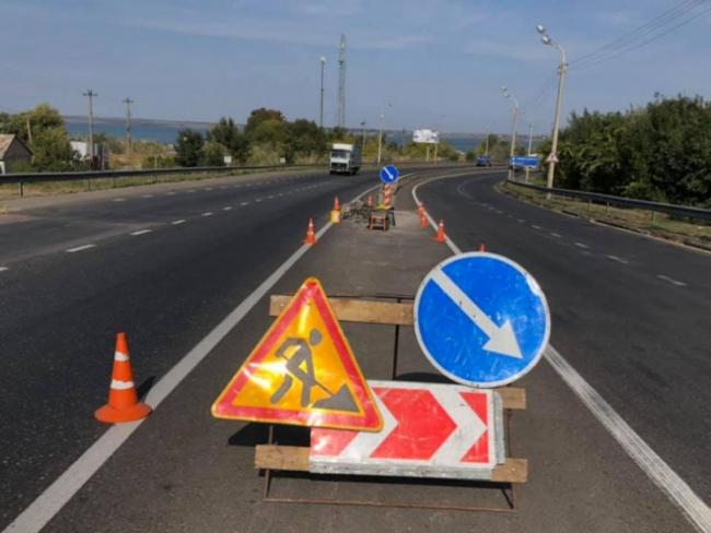На автодорогах Одесской обустроили пять демпферных систем