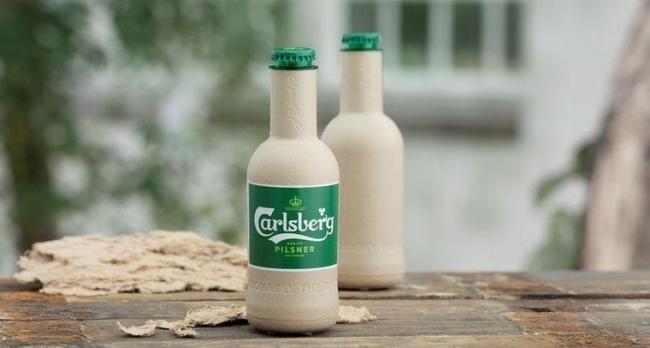 В Дании создали бутылки для пива из древесного волокна