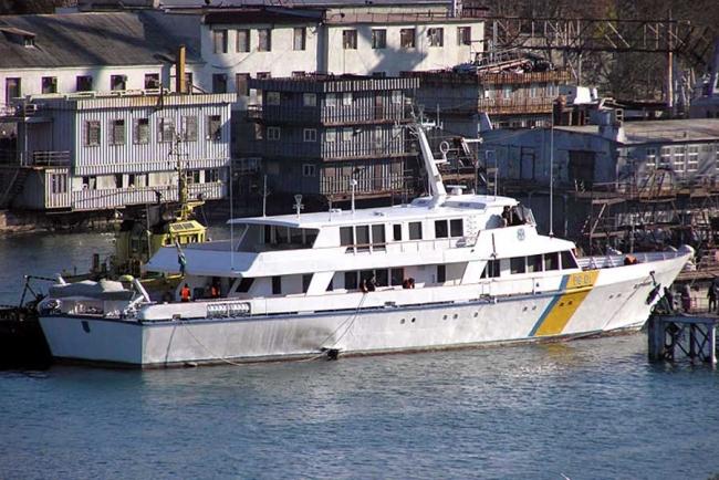Учебный центр Морской охраны получил новое тренировочное судно