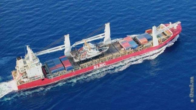 Судно с катерами для Украины вошло в Чёрное море
