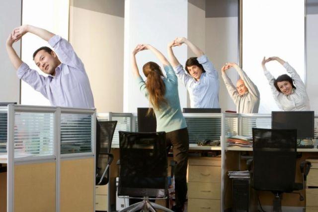 Возродим гимнастику на рабочем месте!